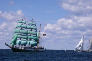 Sail In Parade - Tall Ships Races 2018